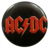 AC/DC - 'Logo Red' Button Badge